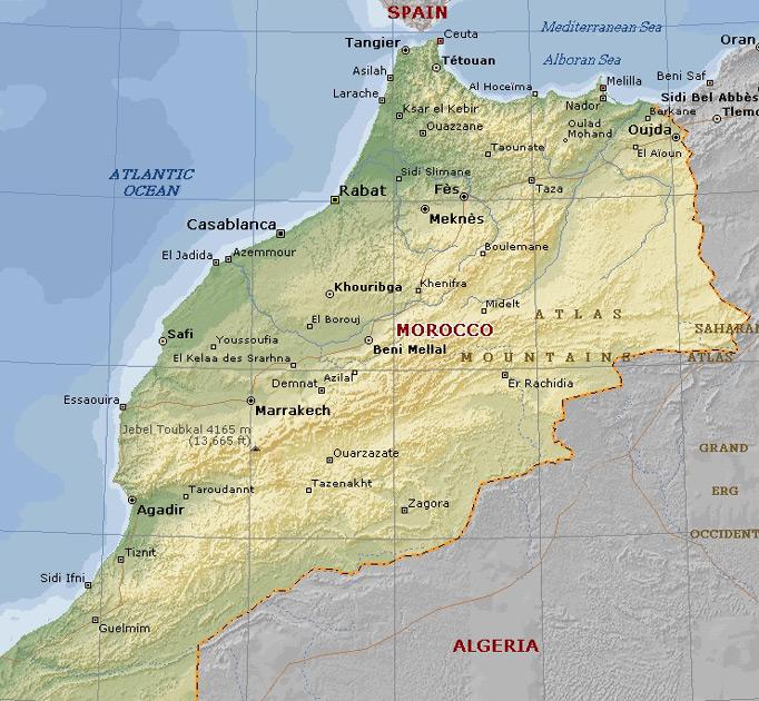 Agadir Morocco  City new picture : Agadir Location in Morocco