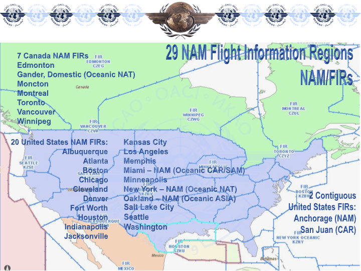 7 Regions Of The United States Map.Flight Information Regions Firs