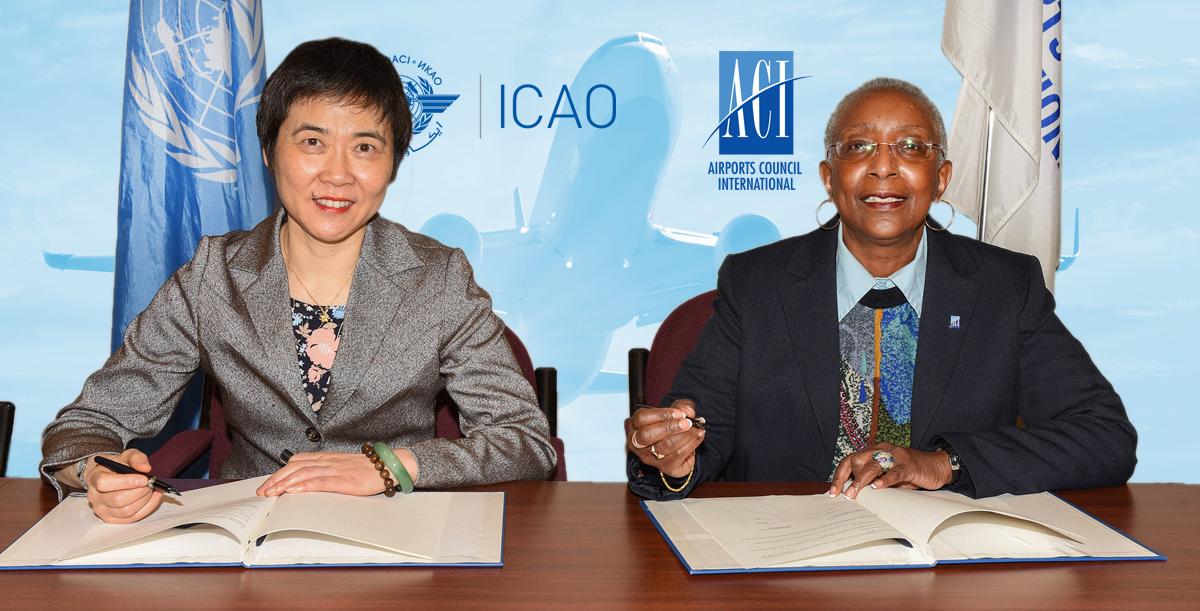 Αποτέλεσμα εικόνας για ICAO and ACI to collaborate on new airport training