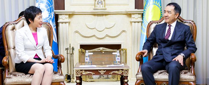 Αποτέλεσμα εικόνας για ICAO Secretary General promotes aviation development priorities during high-level mission to the Republic of Kazakhstan