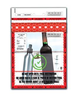Liquids Aerosol And Gels Amp Security Tamper Evident Bags