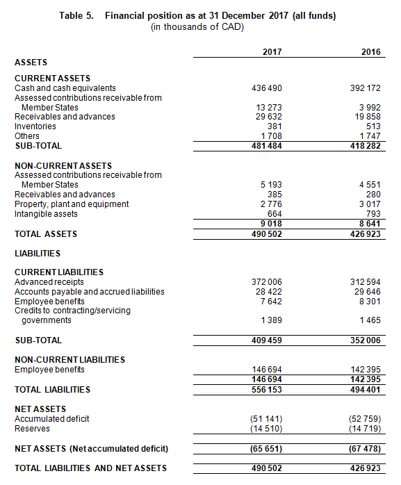 Financial Statement: Extracts Of The Audited Financial
