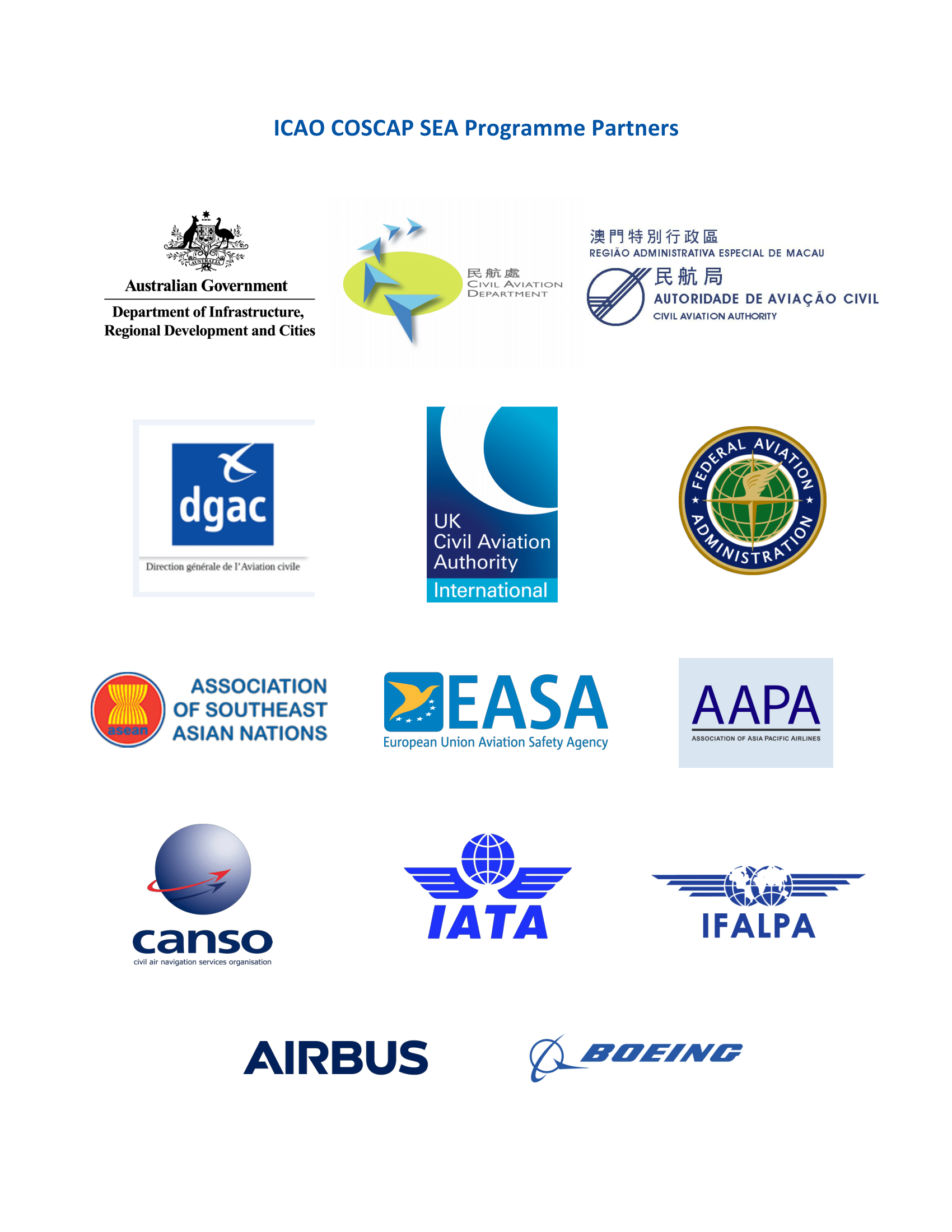 ICAO COSCAP-SEA  Partners.png
